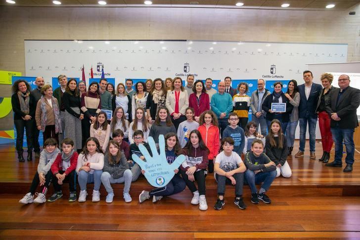 8 centros escolares de Castilla-La Mancha son referentes en educación en derechos de la infancia y ciudadanía