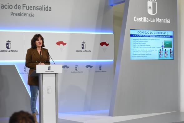 Cuatro nuevos centros educativos en Albacete, Tarancón, Yeles y la cárcel de Ocaña