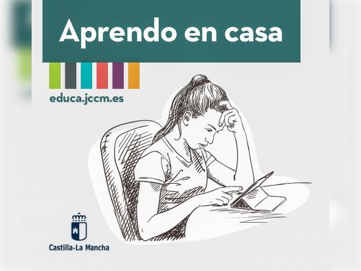 Castilla-La Mancha habilita en el Portal de Educación un espacio con materiales y servicios educativos en línea