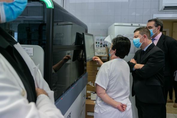 Castilla-La Mancha realizará en los próximos meses más de 10.000 test diarios de coronavirus