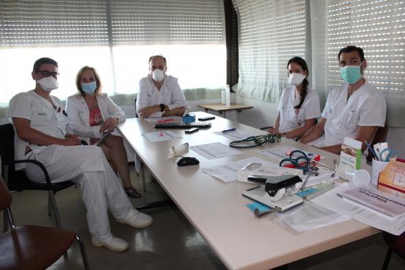 Profesionales del Hospital de Albacete realizan una investigación sobre las complicaciones neurológicas del coronavirus