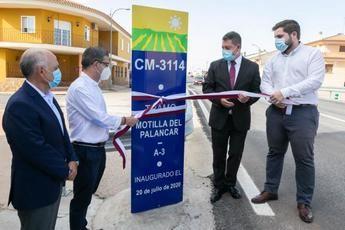 El Gobierno de Castilla-La Mancha finaliza la mejora de la carretera CM-3114, en Motilla del Palancar (Cuenca)