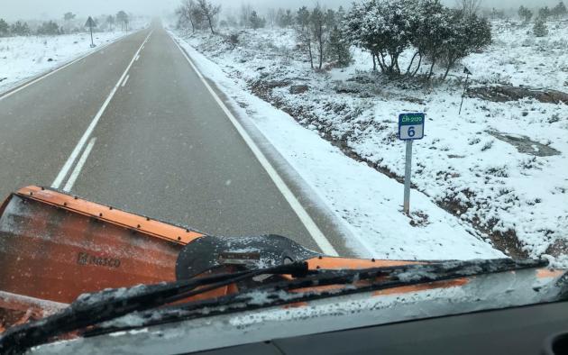 Castilla-La Mancha prepara el Plan de Vialidad Invernal con la contratación de materiales fundentes