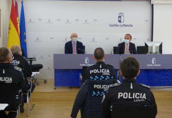 19 jefes de Policía Local de Castilla-La Mancha abordan el problema de la ocupación ilegal