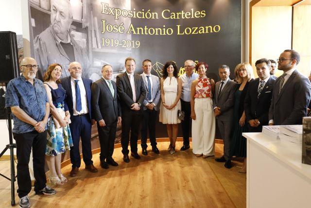 El pabellón municipal del Ayuntamiento de Albacete en la Feria rinde homenaje al artista José Antonio Lozano