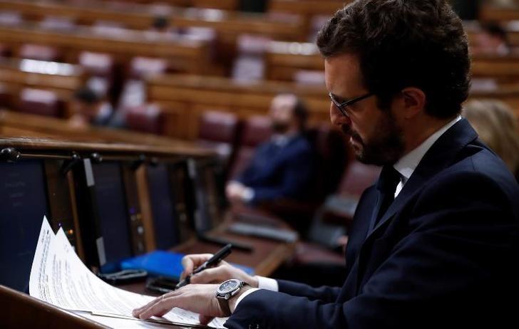 Pablo Casado exige a Sánchez 'pelear' por lo urgente y no por los Pactos de la Moncloa