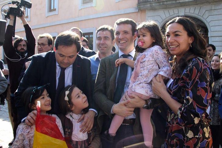 Casado y Abascal, en la provincia de Albacete en la novena jornada de campaña