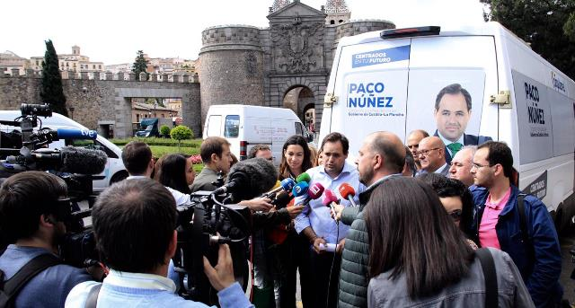 Paco Ñuñez (PP) recorrerá 77 municipios y hará 14.000 kilómetros en busca del voto para presidir Castilla-La Mancha