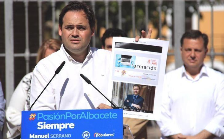 Núñez (PP) se compromete a hacer un pabellón y una piscina olímpica en Albacete
