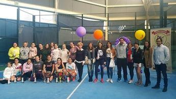53 parejas han participado en el II Torneo Femenino de Pádel de la Diputación de Albacete
