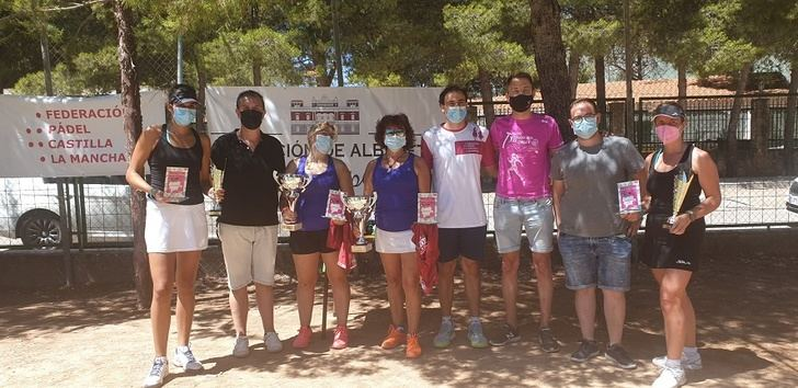 El 'I Circuito de Torneos de Verano de Pádel' de la Diputación de Albacete alcanza su ecuador en Cenizate