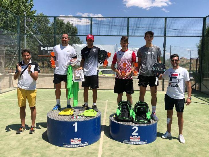El Torneo de Pádel de San Pedro, que organiza la Diputación, registró una alta participación