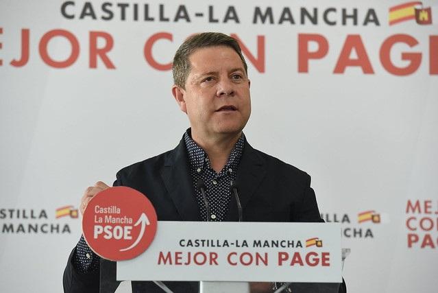Page (PSOE) visita municipios de Albacete en el penúltimo día de campaña