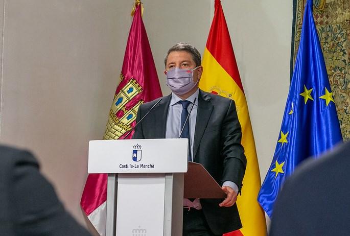Page señala que en año de covid Castilla-La Mancha ha creado empleo gracias a la estrategia del Gobierno regional