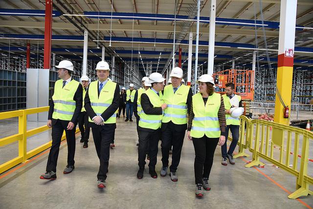 El centro logístico de Amazon en Illescas (Toledo) estará en marcha el 15 de abril y creará 900 empleos