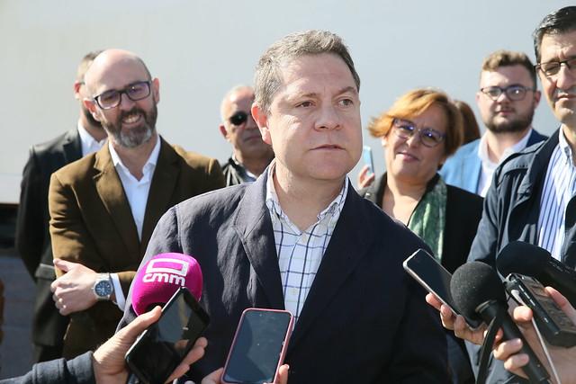 García-Page pide unidad en torno a la opción sur para la Autovía A-43