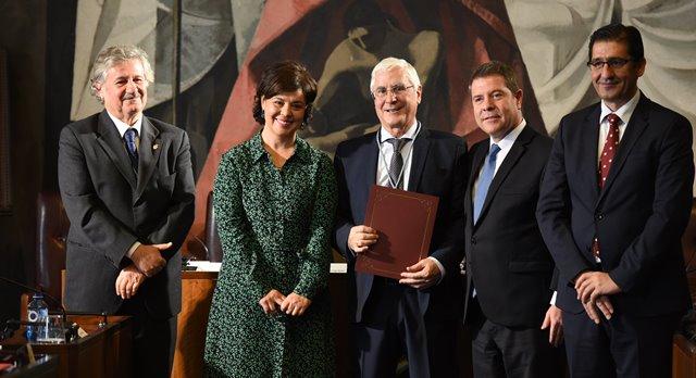 Page anuncia que la UCLM ofertará un nuevo grado de Geografía y Sostenibilidad el próximo curso