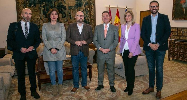 El presidente de Castilla-La Mancha y Ciudadanos acuerdan impulsar la reforma del Estatuto de Autonomía