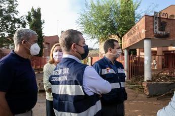 Castilla-La Mancha pondrá todos los medios para que los centros educativos afectados por la riada vuelvan a la normalidad cuanto antes