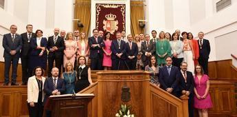 Pablo Bellido, nuevo presidente de las Cortes de Castilla-La Mancha