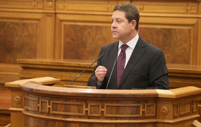 Las Cortes inician el debate que reelegirá a Page como presidente de Castilla-La Mancha