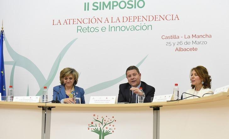 Page recuerda al Estado la deuda pendiente de 450 millones con Castilla-La Mancha en concepto de dependencia