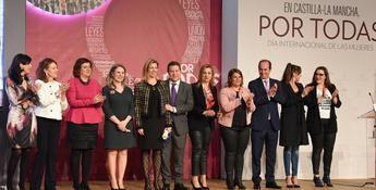Page preside el acto institucional de Castilla-La Mancha con motivo del Día Internacional de las Mujeres