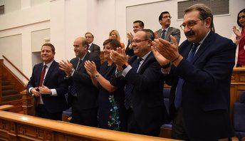 Page, reelegido presidente de Castilla-La Mancha con la mayoría absoluta de PSOE