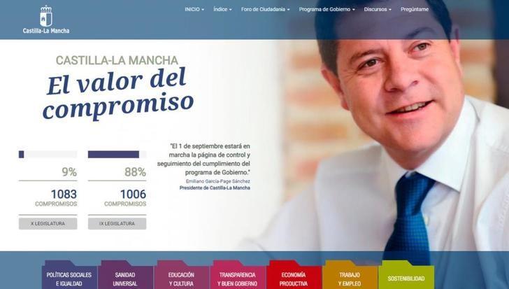 La Junta de Castilla-La Mancha sigue cumpliendo los compromisos para esta X legislatura llegando al 9% de ejecución