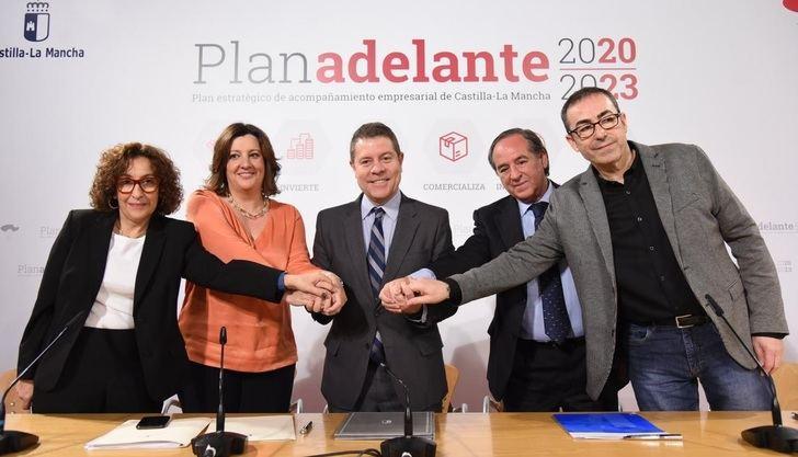 Gobierno de Castilla-La Mancha y los agentes sociales firman el Plan Adelante 2020-2023