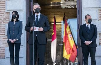 Homenaje en las Cortes de Castilla-La Mancha a Jesús Fernández Vaquero