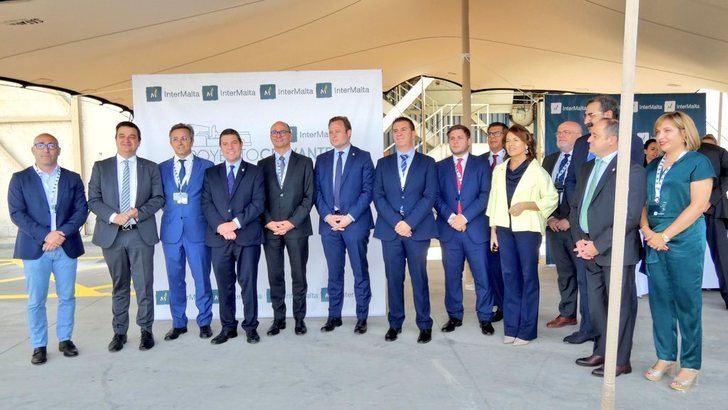 Visita a la empresa Intermalta, en Albacete, que amplia instalaciones y proyectos