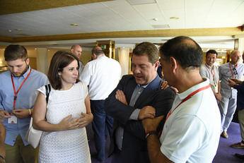 Page está satisfecho por poder seguir el proyecto de cambio en Castilla-La Mancha