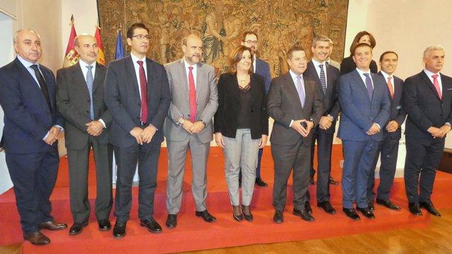 Albacete y el resto de diputaciones de Castilla-La Mancha, firman con la Junta el nuevo Plan Regional de Empleo
