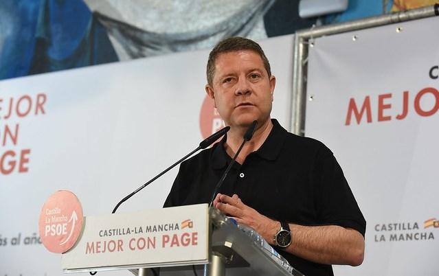 Page (PSOE) hará lo que mucha gente piensa, una ley más restrictiva con el juego en Castilla-La Mancha