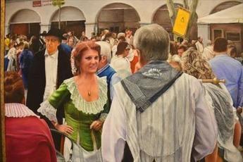 El Museo Municipal de Albacete acoge hasta el día 30 de junio la muestra 'Paisajes de la Mancha' de 'Monroy'