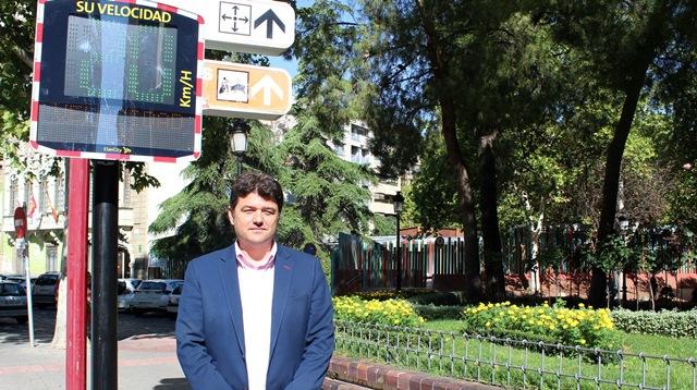 Albacete cuenta con nueve paneles que informan de la velocidad a los conductores