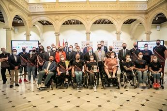 Ocho deportistas de C-LM, preseleccionados para las Paralimpiadas de Tokio 2021