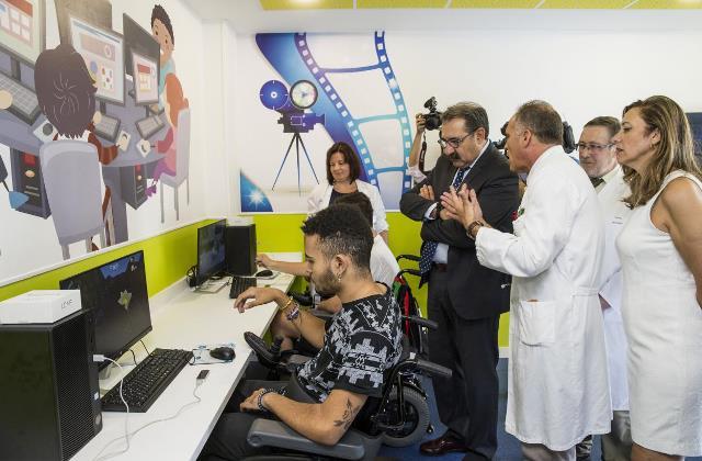 El Hospital de Parapléjicos de Toledo pone en marcha un espacio cultural y de ocio virtual para los más jóvenes