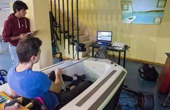 El Hospital de Parapléjicos de Toledo integra un simulador de vela para la terapia de lesionados medulares