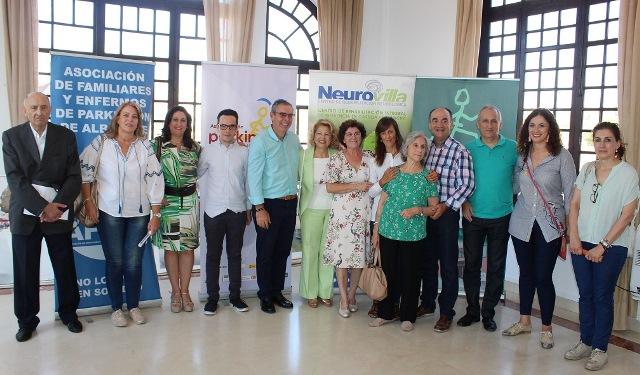 Jornadas de sensibilización con los enfermos de párkinson en la Feria de Albacete