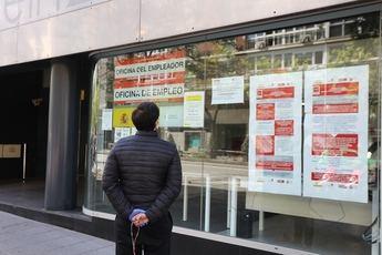 Castilla-La Mancha contabiliza 2.116 desempleados menos en abril y el número de parados se queda en 191.265