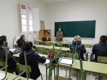 Militares de Italia y Grecia son los que más han participado en los cursos de español de Universidad Popular de Albacete