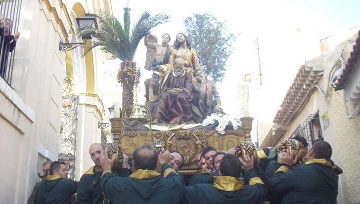 El 'Paso Gordo' celebra el 75 aniversario de la llegada de la 'Oración en el Huerto' a Hellín