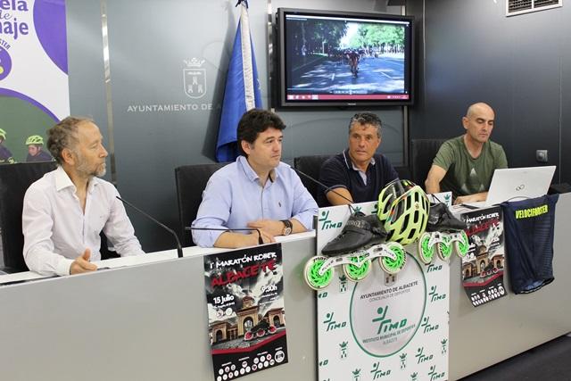 """Albacete organiza la V prueba de la Copa de España de patinaje """"I Roller Maratón Ciudad de Albacete"""""""