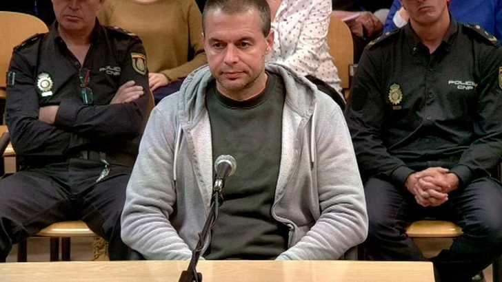 Imagen de archivo del acusado.