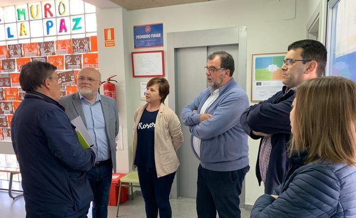 La Junta abordará las necesidades de profesionales y adecuación técnica del CEIP San Roque de Villalgordo del Júcar (Albacete)