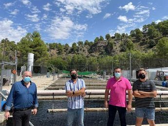 La piscifactoría El Zarzalejo, en Alcaraz, aumentó su exportaciones durante la pandemia del COVID