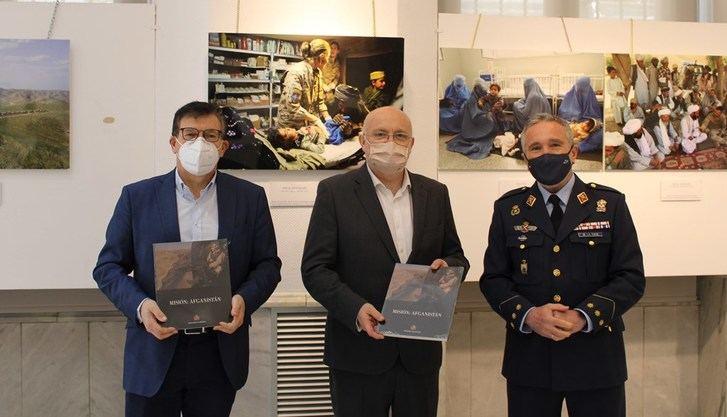 """El Archivo Provincial de Albacete acoge la exposición """"Misión: Afganistán"""""""