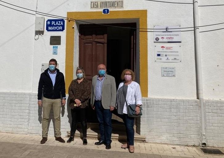 Las obras en la CM-3216 a su paso por Paterna del Madera (Albacete) estarán finalizadas antes de terminar el año